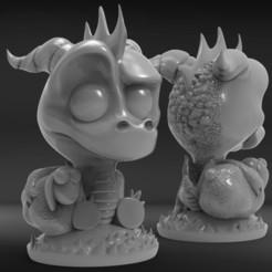 Descargar archivos 3D gratis Spyro , Norami3d