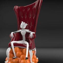 Download 3D printing models Jack skelleton skellington, Norami3d