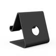 Imprimir en 3D gratis Soporte de iPhone para su escritorio (compatible con la mayoría de los teléfonos inteligentes), oliveandco