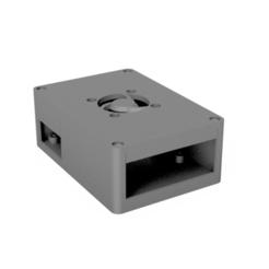 Rpibox v2 v8.png Télécharger fichier STL gratuit Raspberry Pi 4 Case • Modèle à imprimer en 3D, oliveandco