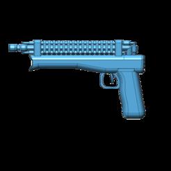 Descargar modelo 3D gratis Pistola láser, Toezy