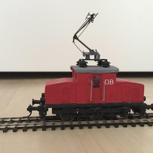 Télécharger fichier STL gratuit Locomotive électrique E69 - échelle HO (1:87) • Design à imprimer en 3D, nenchev