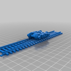 Download free STL file Warhammer 40K train system - 3 axl bogie • Design to 3D print, nenchev
