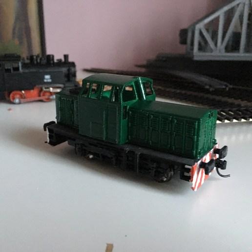Télécharger fichier STL gratuit T334 - moteur diesel de train - modèle réduit H0 (1:87) • Design pour impression 3D, nenchev