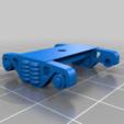 Télécharger fichier STL gratuit Plate-forme pour wagons plats de 50 t à l'échelle 1:87 - HO / H0 • Plan à imprimer en 3D, nenchev