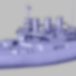 Télécharger fichier STL gratuit Bateau blindé russe - Potemkin • Objet pour imprimante 3D, nenchev