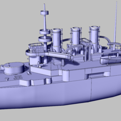 Download free STL file Russian Armored Ship - Potemkin • 3D printer template, nenchev