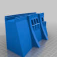 Descargar modelo 3D gratis Pared de presa simple - escala HO (1:87), nenchev