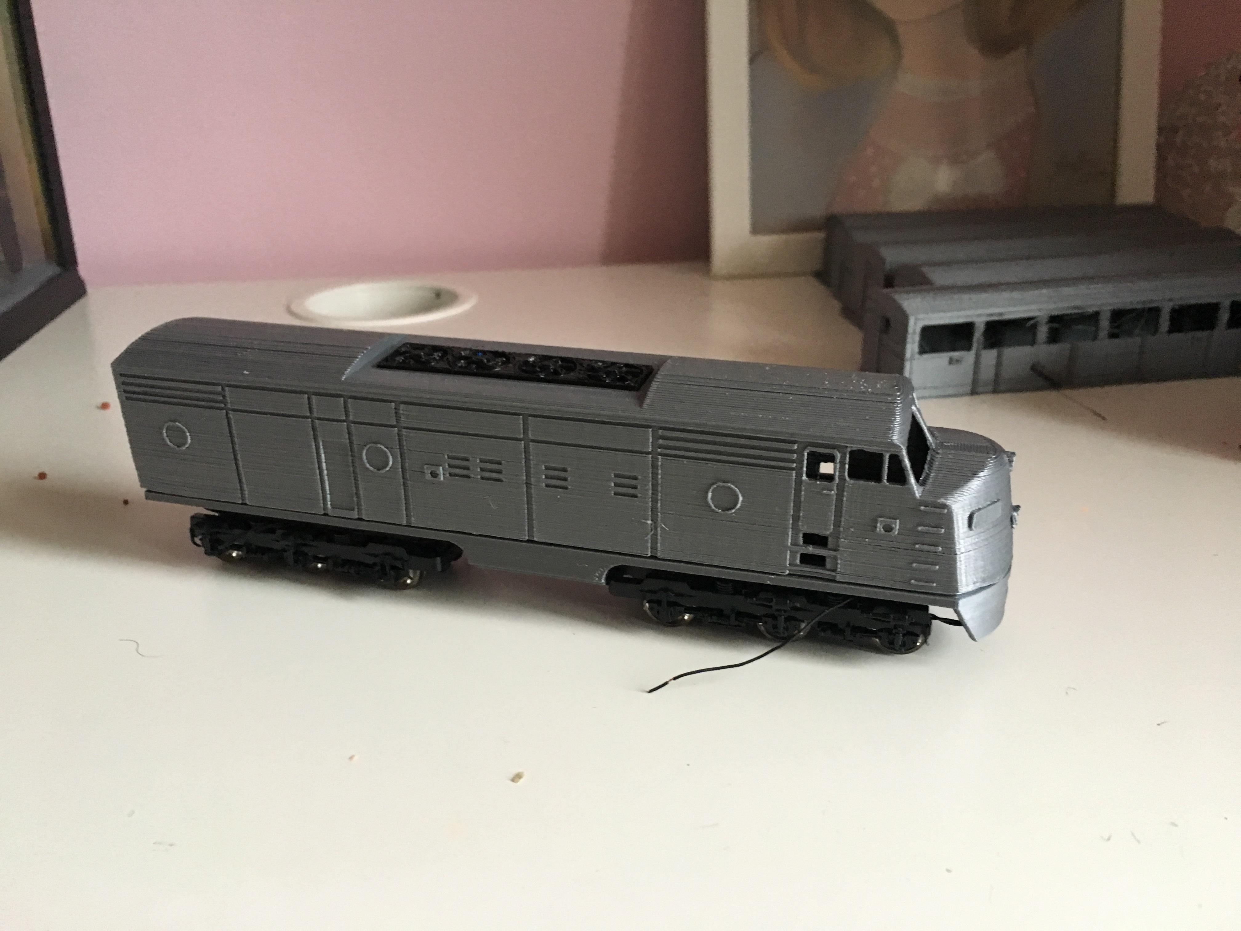 IMG_6989.JPG Télécharger fichier STL gratuit Santa Fe - Super Chief - F-series, Un train miniature à l'échelle 1:87 • Objet pour impression 3D, nenchev