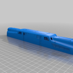d20692a221b0fba62a8f0c39e2089aeb.png Download free STL file GG1 - Pennsylvania Locomotive in HO - 1:87 scale • 3D print template, nenchev