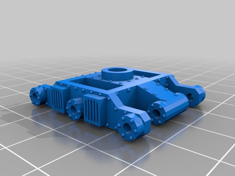 c20fd17f21aca3d60fc4aea862c0d065.png Download free STL file WARHAMMER 40K Armored train loco - 18 mm scale - 1:87 HO gauge w/ motor • Template to 3D print, nenchev