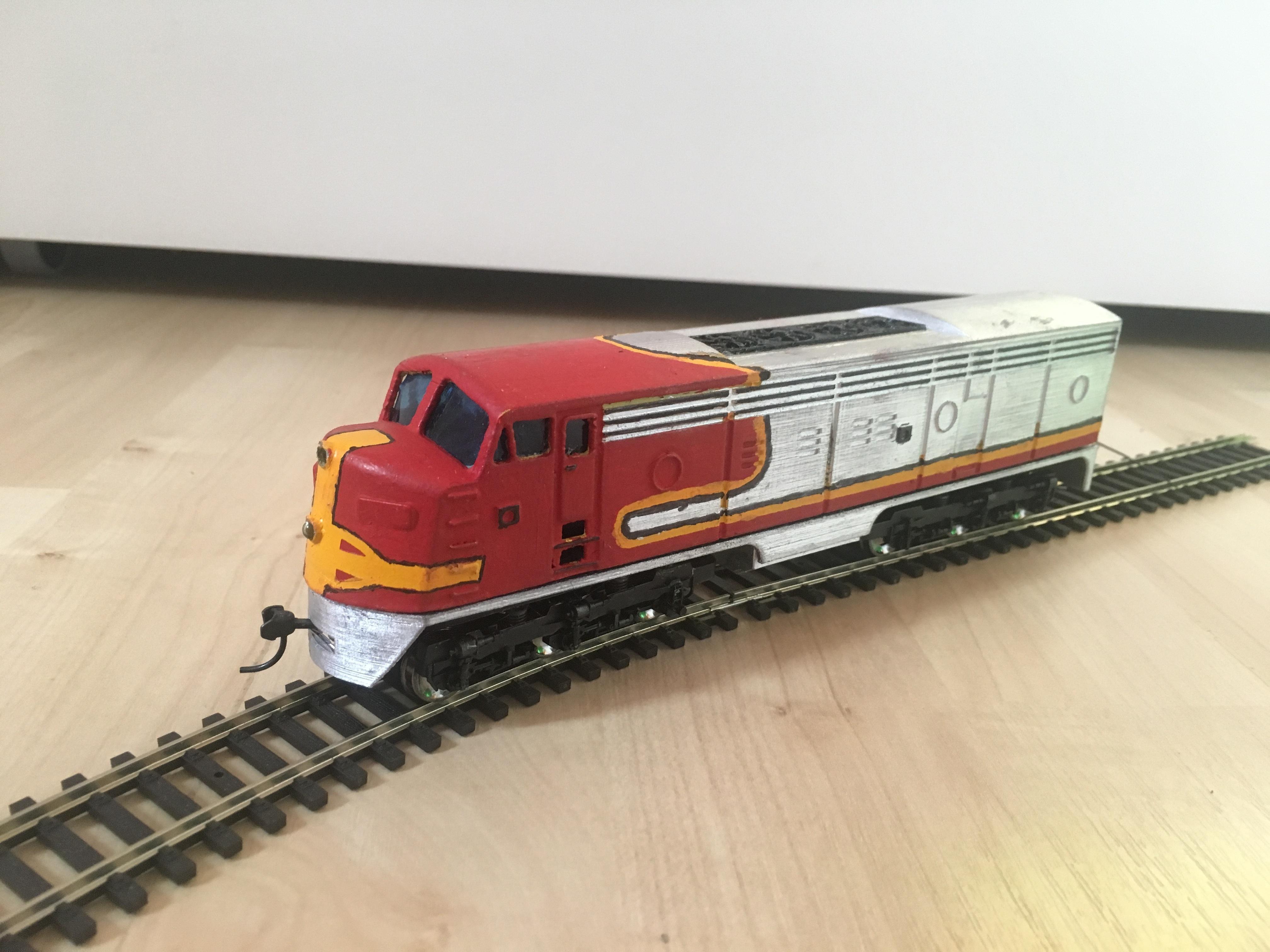 6B2B6074-41CC-4564-BFE0-3C8246DCCE17.jpeg Télécharger fichier STL gratuit Santa Fe - Super Chief - F-series, Un train miniature à l'échelle 1:87 • Objet pour impression 3D, nenchev