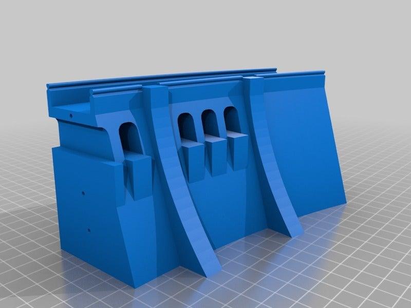 537c8547d102e834934fe797d6d1c5be.png Télécharger fichier STL gratuit Mur de barrage simple - échelle HO (1:87) • Modèle à imprimer en 3D, nenchev