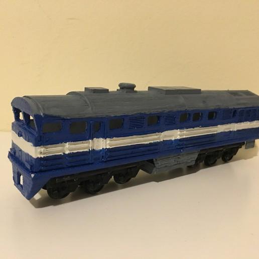 Download free 3D print files 2TE116 Russian Diesel Train in H0 (1:87), nenchev