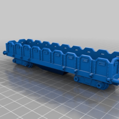 Download free STL file Warhammer 40K - general gargo wagon - HO scale (1:87) • 3D printing object, nenchev