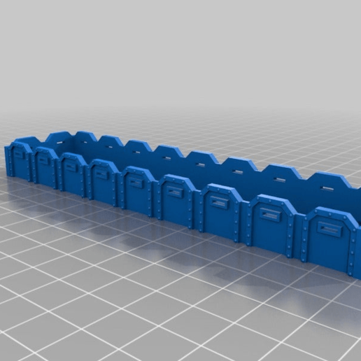 cdb56b44bd6f8ffec73400b803487cbb.png Télécharger fichier STL gratuit Warhammer 40K - wagon gargo général - échelle HO (1:87) • Modèle pour impression 3D, nenchev