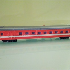 Download free 3D printing designs Modification of Russian passanger coach H0 scale (1:87), nenchev