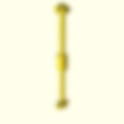Télécharger fichier SCAD gratuit Échelle HO 1:87 Transmission cardanique - personnalisable • Modèle pour impression 3D, nenchev