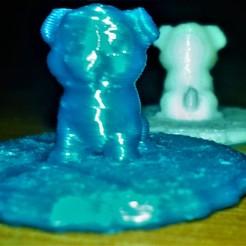 Free 3D printer model Dog, Lowix