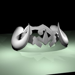 Brigitte GOAT crown.jpg Download STL file Brigitte GOAT Crown • 3D print template, RedDirt3D