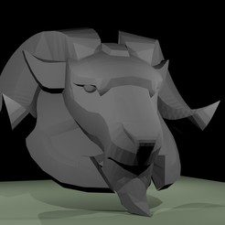 GOAT shoulder.jpg Download STL file Brigitte GOAT shoulder • Object to 3D print, RedDirt3D