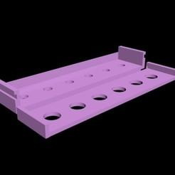 Download free 3D printer templates Dry Erase Marker Holder, RedDirt3D