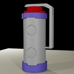 Flashbang_Render.jpg Télécharger fichier STL gratuit Flashbang de Deadlock McCree • Design pour imprimante 3D, RedDirt3D