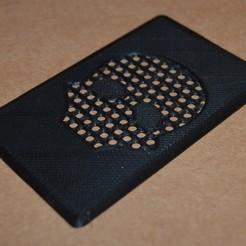 Imprimir en 3D gratis trituradora de tarjetas de hierba, topedesigns