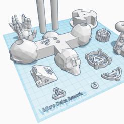 Download free 3D print files Microdelta Rework - custom, topedesigns