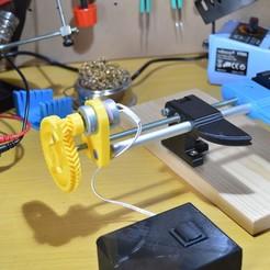 Descargar archivo 3D gratis Motorización del PCB-Vise, topedesigns
