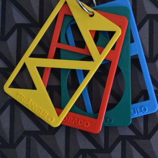 Download free STL file Formas geométricas / geometric shapes (pré-escola / K5) • 3D printer design, topedesigns