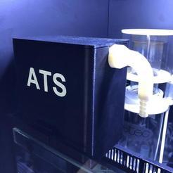 Download 3D model ALGAE SCRUBBER - AQUARIUM FILTER ATS REEF, IG3D