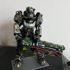 Impresiones 3D gratis Armadura de potencia Fallout T-60, jole-haret
