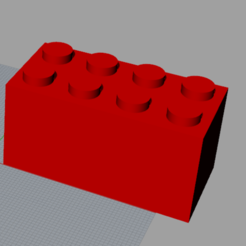 Download 3D printing designs Lego, Ghostwriter