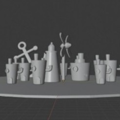 Download free 3D printing designs Bikini Bottom, Wembleyy