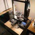 Télécharger plan imprimante 3D gatuit Barre LED + interrupteur - Ender 3 / Ender 3 Pro (sans vis), Sheeloo