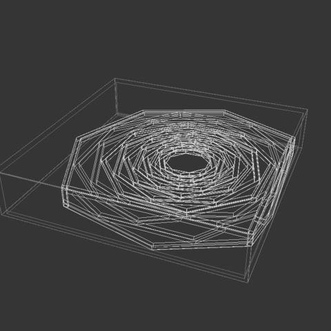wire.JPG Download free STL file Hanako Coffee Table • 3D print template, Miladv