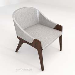 Download free 3D printing designs Calia's Chair, Miladv