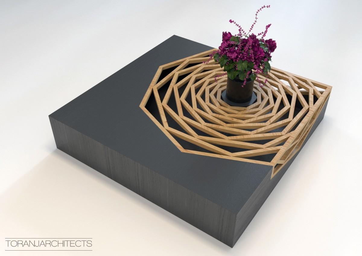 4.jpg Download free STL file Hanako Coffee Table • 3D print template, Miladv
