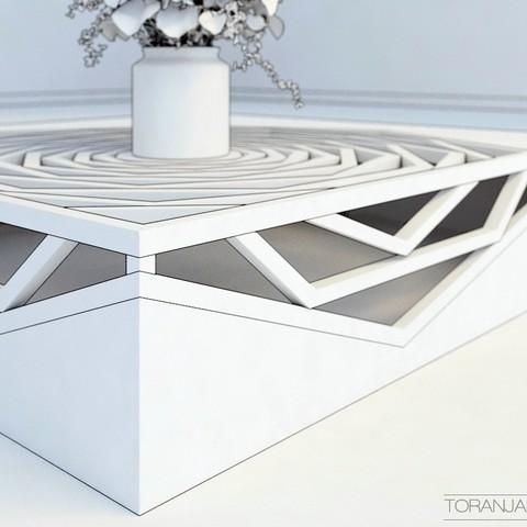 6.jpg Download free STL file Hanako Coffee Table • 3D print template, Miladv