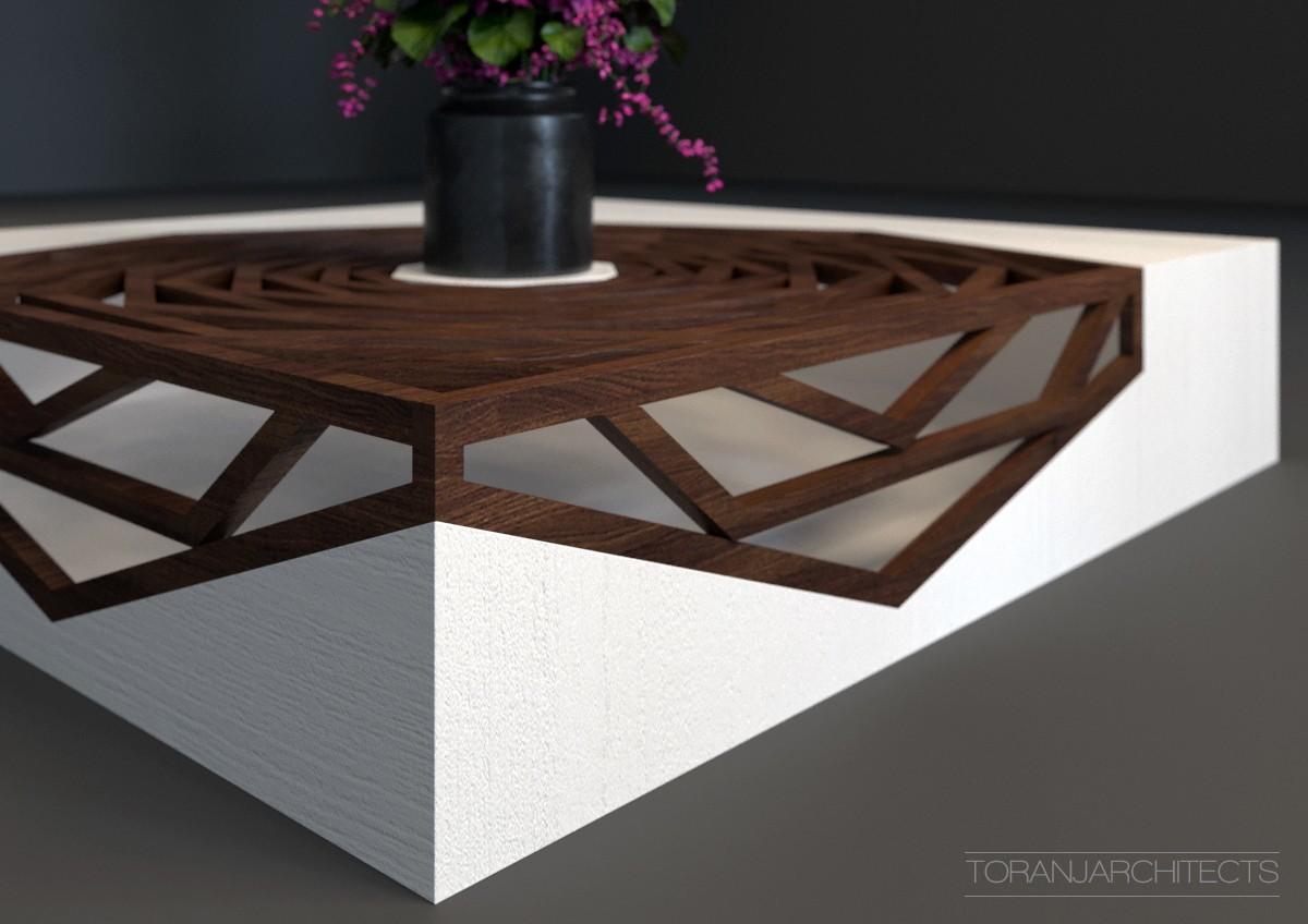 2.jpg Download free STL file Hanako Coffee Table • 3D print template, Miladv