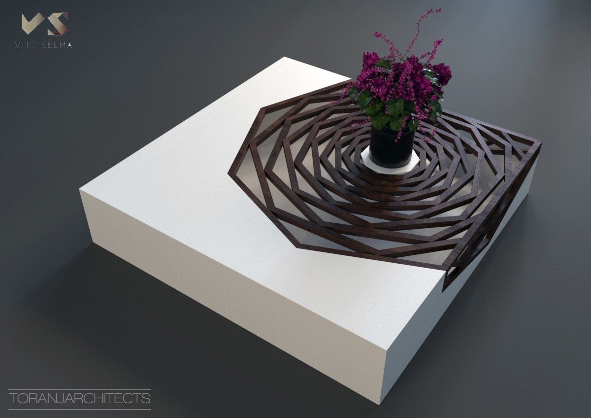 1.jpg Download free STL file Hanako Coffee Table • 3D print template, Miladv