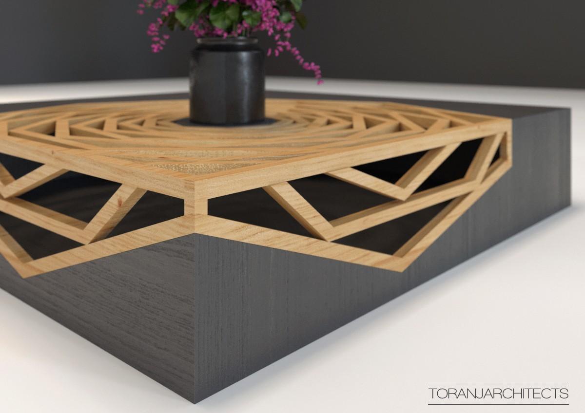 5.jpg Download free STL file Hanako Coffee Table • 3D print template, Miladv