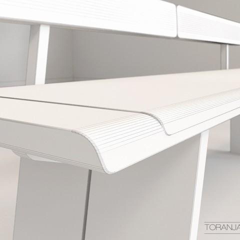 04_preview2.jpg Télécharger fichier STL gratuit Team7 Banc • Modèle imprimable en 3D, Miladv