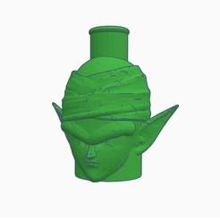 Download 3D printer templates Cachimba / Shisha Piccolo Mouthpiece, Shisha3D