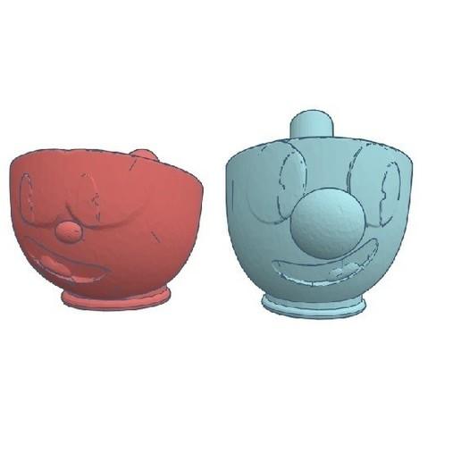 Download STL files Mouthpiece Cachimba / Sisha Cuphead pack, Shisha3D