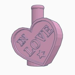 Download free STL file Cachimba / Sisha Corazón Mouthpiece • 3D printable template, Shisha3D