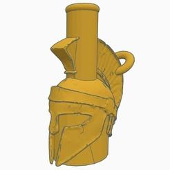 Sin título.jpg Télécharger fichier STL Cachimba / Embouchure Shisha Espartano • Modèle à imprimer en 3D, Shisha3D
