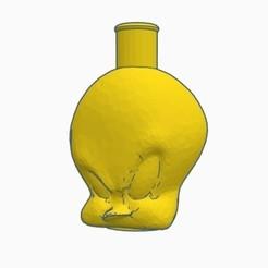 Sin título.jpg Télécharger fichier STL Cachimba / Shisha Tweety Embouchure • Plan pour impression 3D, Shisha3D