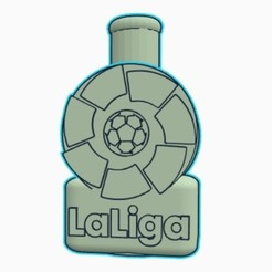 Sin título.jpg Download STL file Cachimba / Shisha Mouthpiece Spanish League Shield • 3D printable design, Shisha3D